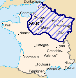 Occupation of France by German troops after 1871