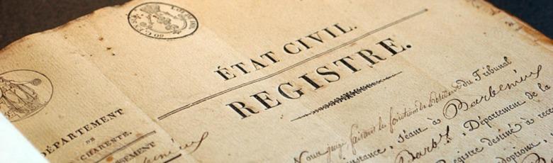 Registre d'Etat-Civil (French Records)